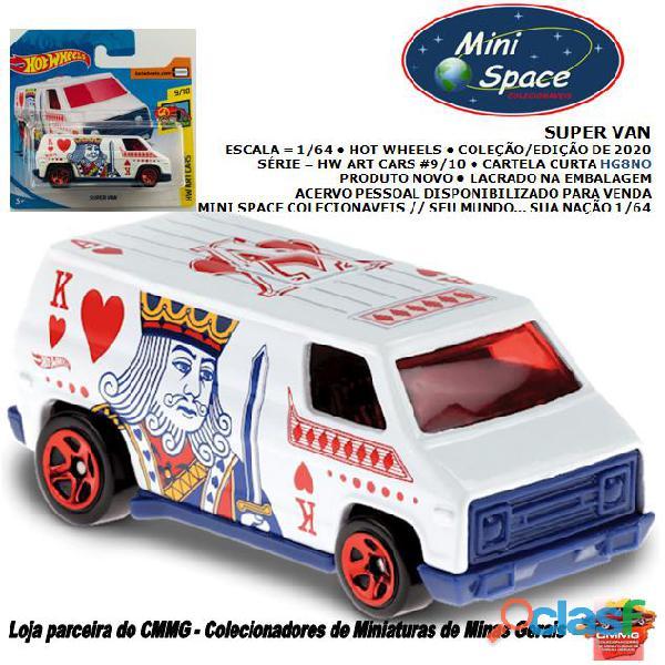 Hot wheels 2020 super van hw art cars 1/64