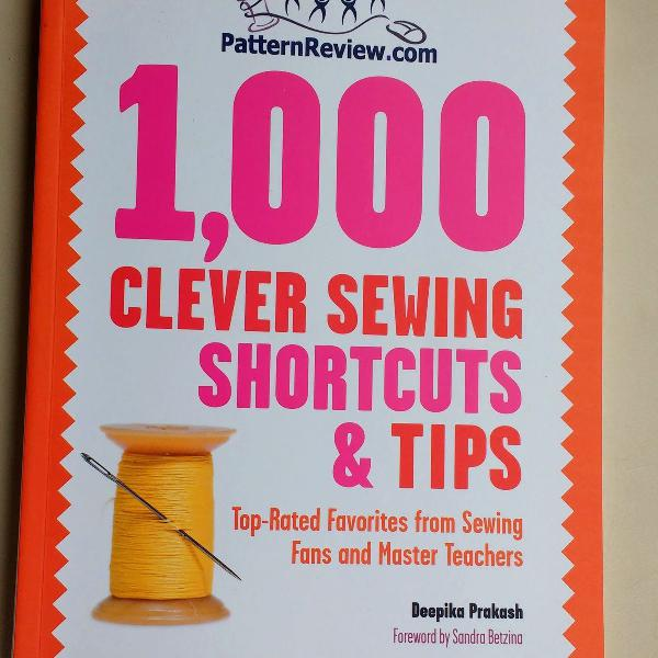Iivro 1.000 clever sewing shortcuts and tips