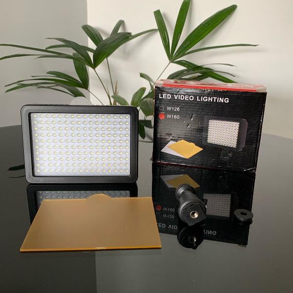 Iluminador profissional led video lighting wansen