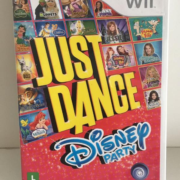 Jogo nintendo wii just dance disney party funcionando muito