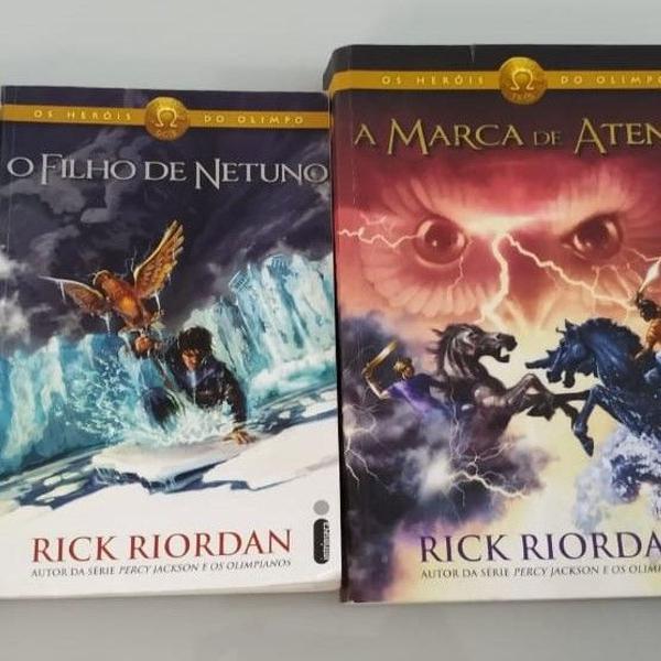 Kit livros - série os heróis do olimpo (4 volumes)
