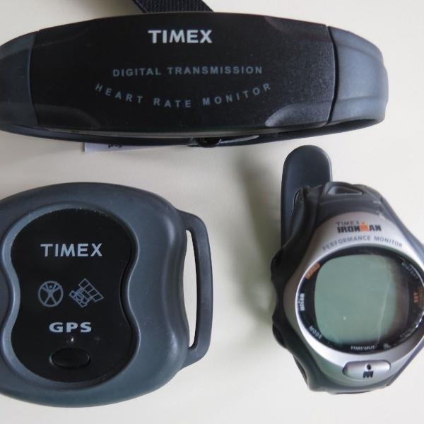 Kit timex iroman t5e671 unisex - aparelho de pressão