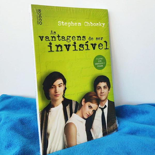 Livro: as vantagens de ser invisível - stephen chbosky