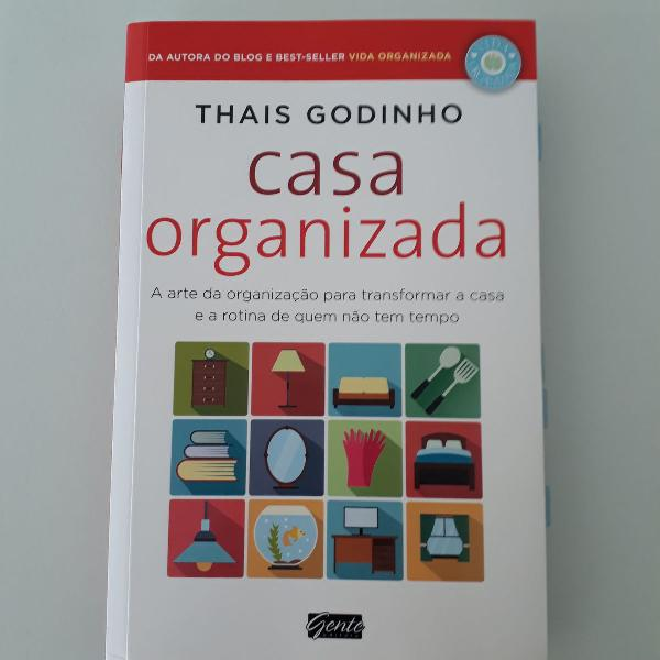 Livro casa organizada