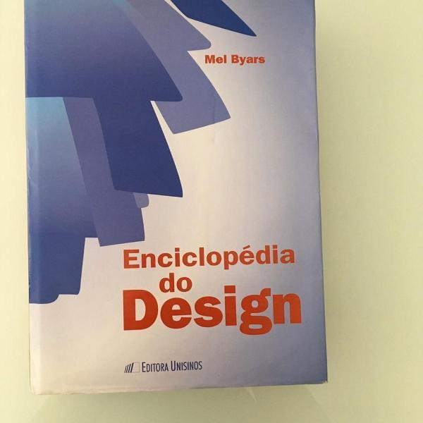 Livro enciclopédia do design