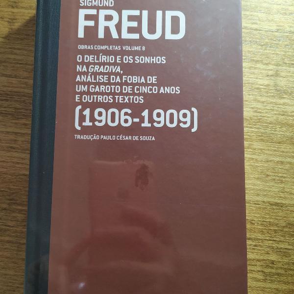Livro freud, obras completas, volume 8