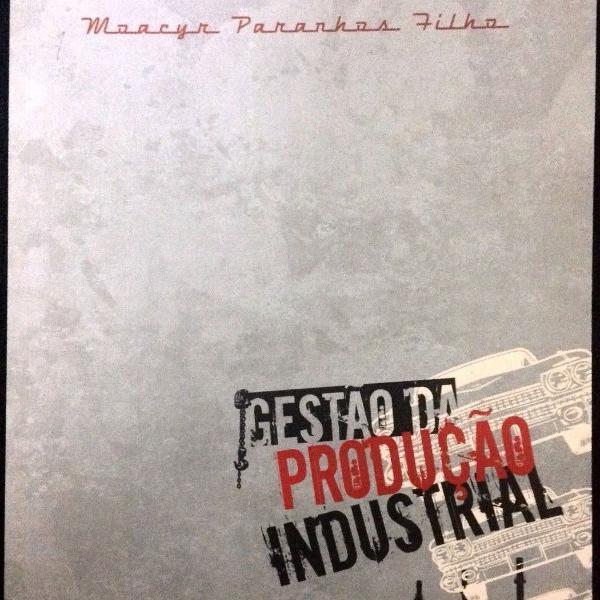 Livro gestão da produção industrial