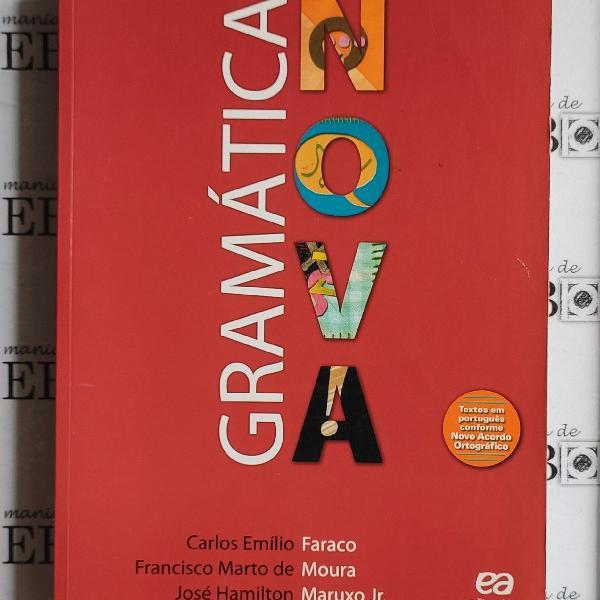 Livro gramática nova