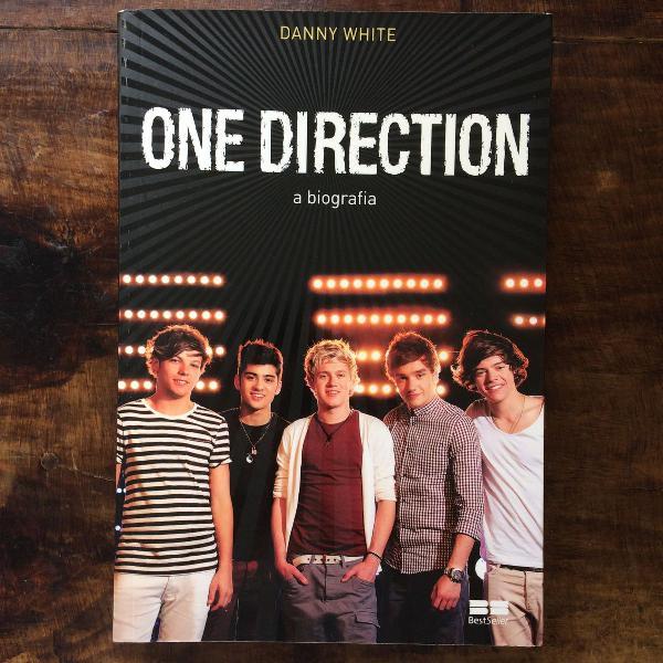 Livro one direction a biografia, autor danny white