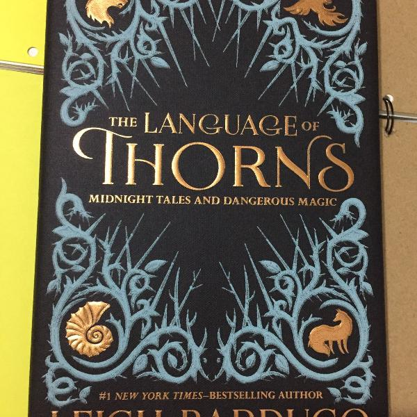 Livro the language of thorns de leigh bardugo