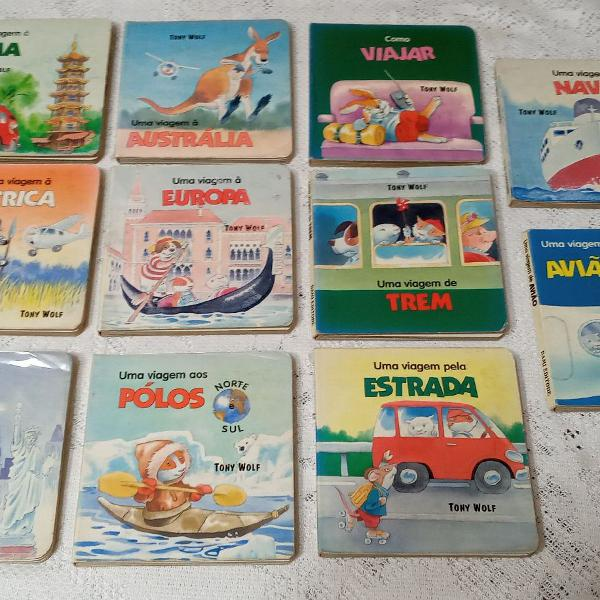 Livros infantis uma viagem ...