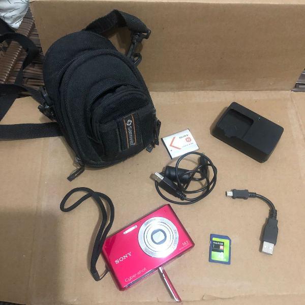 Maquina fotografica sony cybershot 14.1mp