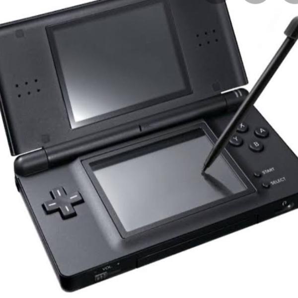 Nintendo ds preto