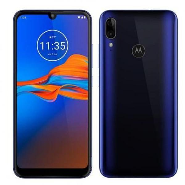 Smartphone motorola e6 plus azul netuno xt2025-1 32gb 4g