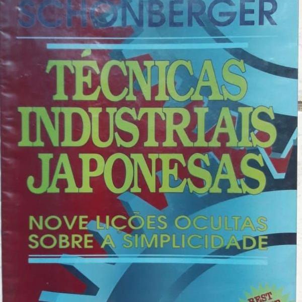 Técnicas industriais japonesas - nove lições ocultas