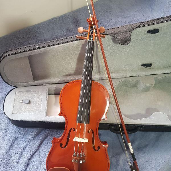 Violino hofma 4/4 com capa