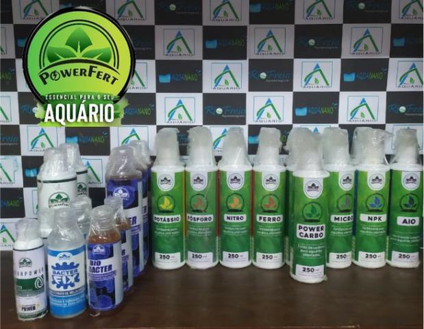 Fertilizante líquido aquário plantado powerfert kit 1