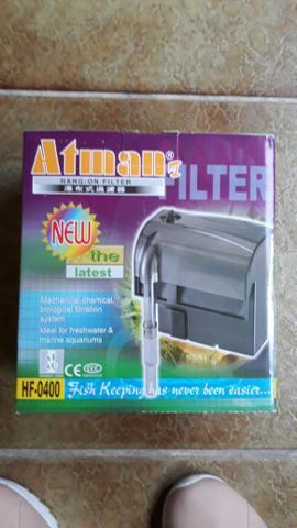 Filtro atman hf-0400 hang on filter