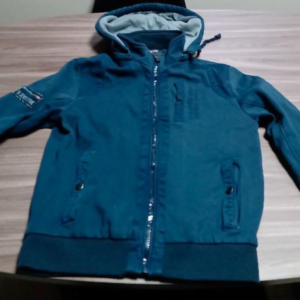 Jaqueta azul marinho tamanho p vesani