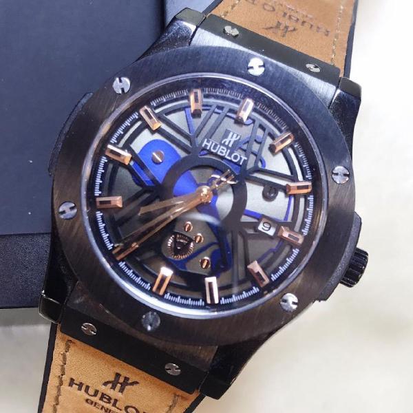 Relógio hublot social linha premium 1 - importado masculino