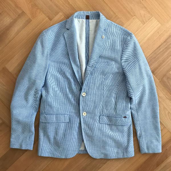 Blazer zara azul claro (m) paletó