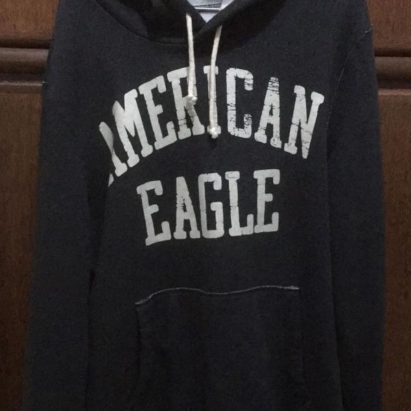Blusa de moletom american eagle