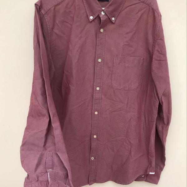 Camisa gap 100% algodão