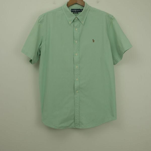 Camisa ralph lauren manga curta masculina