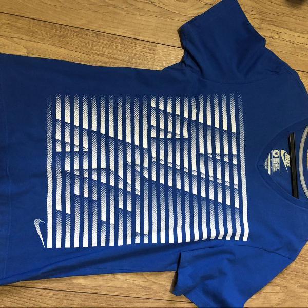 Camiseta azul nike