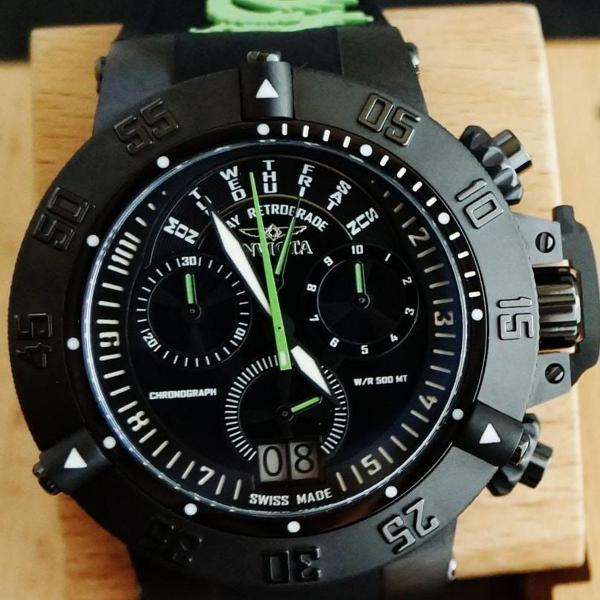 Cronograph invicta 10187 noma iii