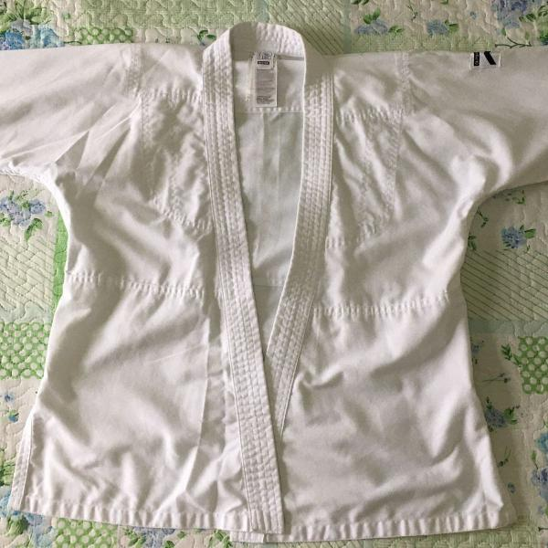 Kimono judo - branco - br 4 (130cm) - decathon - outshock