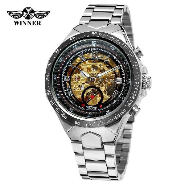 Relógio mecânico winner original