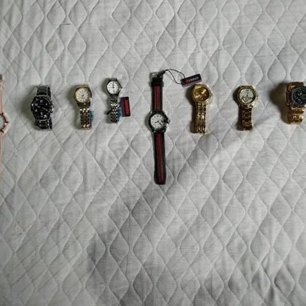 Relógios novos!