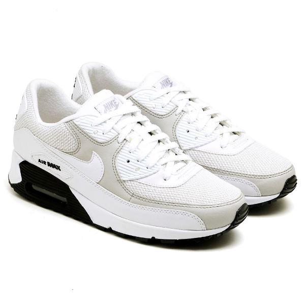 Tenis nike air max 90 branco com cinza - envio imediato