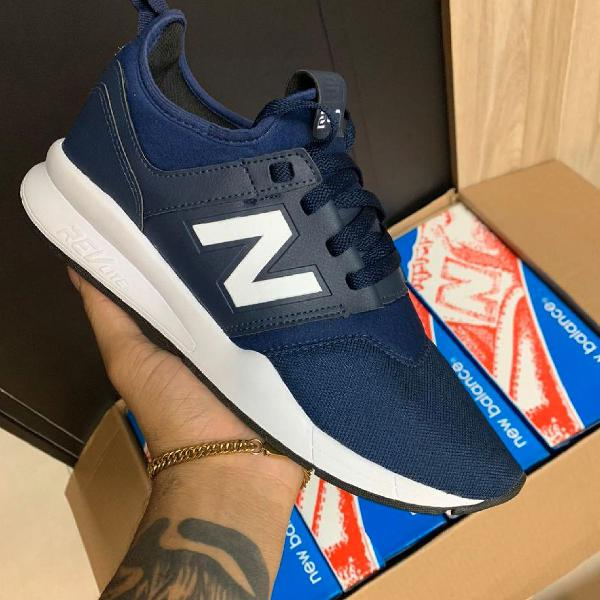 Tênis new balance azul n40 prontra entrega