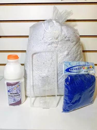 2 kits papel de parede líquido + des
