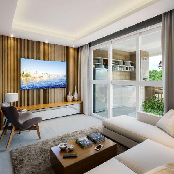 Apartamento 119 m2 com 3 quartos - 100 m da praia