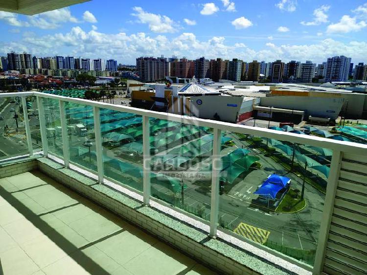 Apartamento novo com 80m² 3/4, suíte varanda - neo