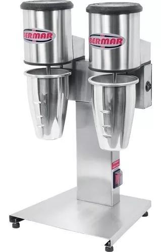 Batedor de milk shake duplo profissional
