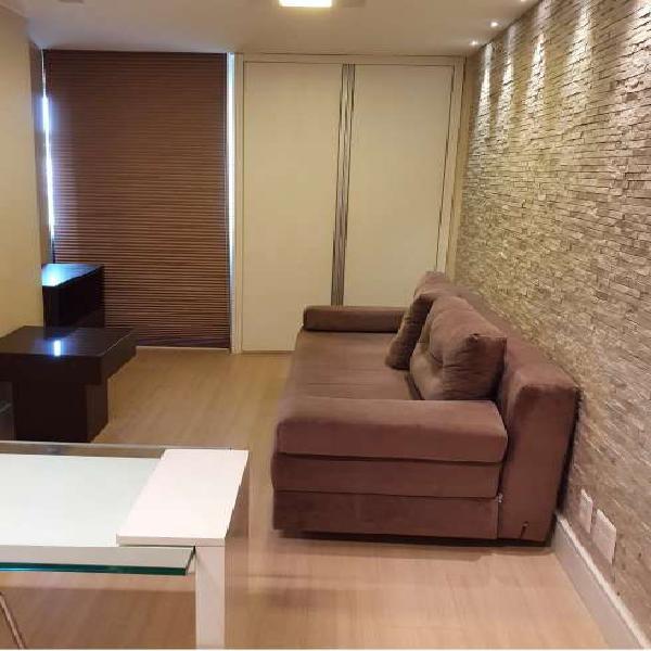 Kitnet para aluguel tem 30 m. mobiliada. garagem