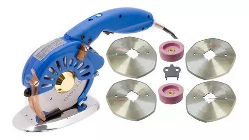 Máquina cortar tecido direct drive bivolt + kit acessórios