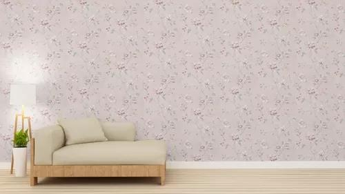 Papel parede lavável vinílico 10x53 sala + cola
