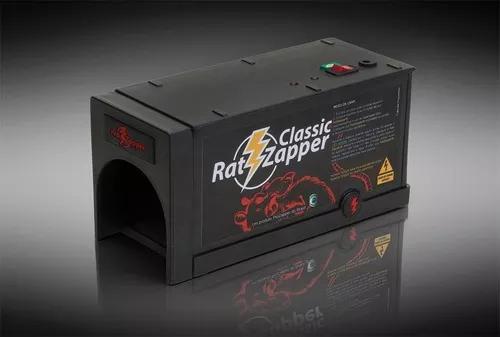 Ratoeira elétrica ratzapper classic p/ casa e açougue