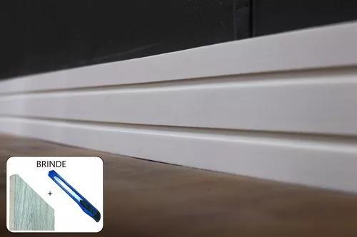 Rodapé eva flexível autoadesivo 10cmx1cm siena 06 metros