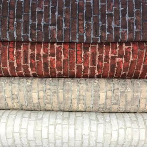 Tecidos para parede tijolinhos branco 2,80m de altura