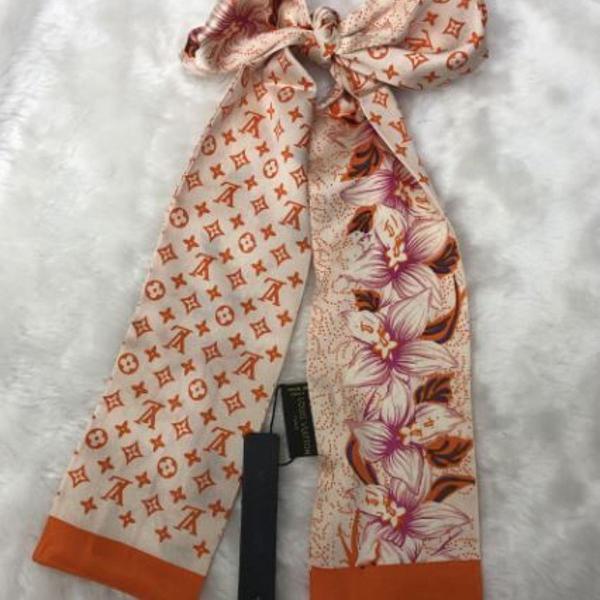 Lenço para bolsa ou pescoço seda