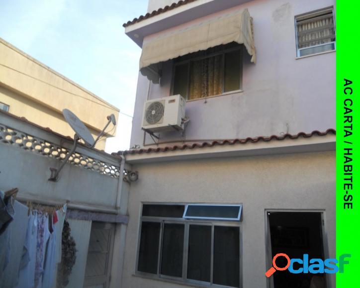 Excelente casa duplex 2 quartos vaga, terraço - pça patriarca - madureira