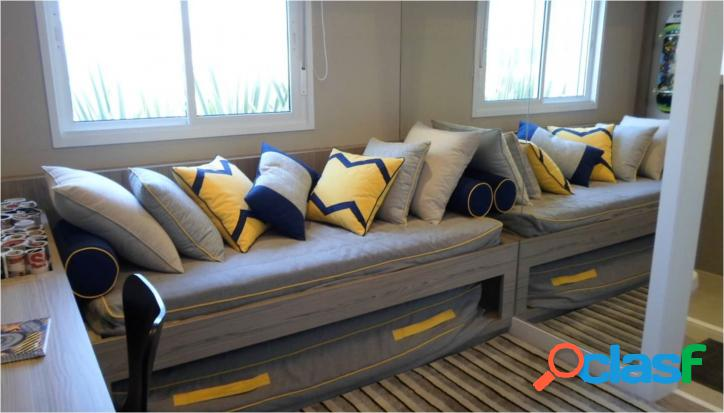 80 a 105m², 2 e 3 dorm. Resort Bethaville, 2