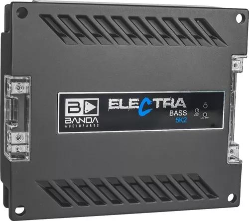 Amplificador banda electra 5k2 5000w rms 2 ohms 1 canal mono