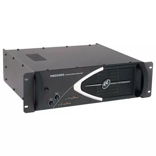 Amplificador profissional pro 5000 1250 wrms